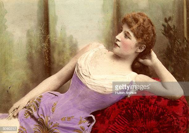 Lillie Langtry actress and mistress to the Prince of Wales