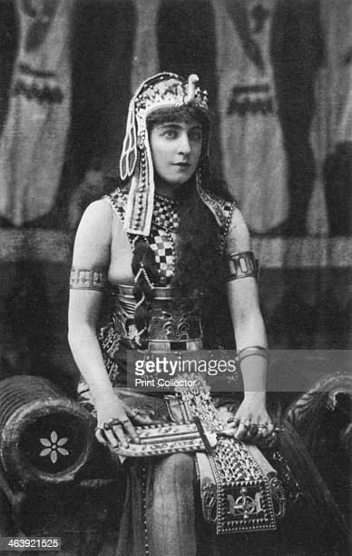 Lillie Langtry as Cleopatra c1890 The Jersey Lily as the Egyptian queen Cleopatra
