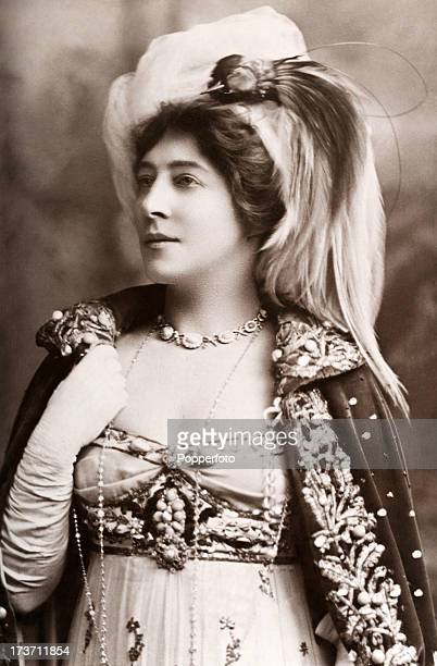 Lillie Langtry British actress and celebrity circa 1905