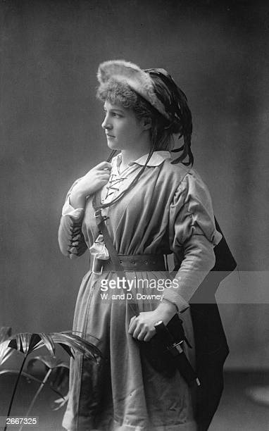 Lillie Langtry British actress and mistress of Edward VII as she appears in Shakespeare's 'As You Like It' She was born in Jersey in the Channel...