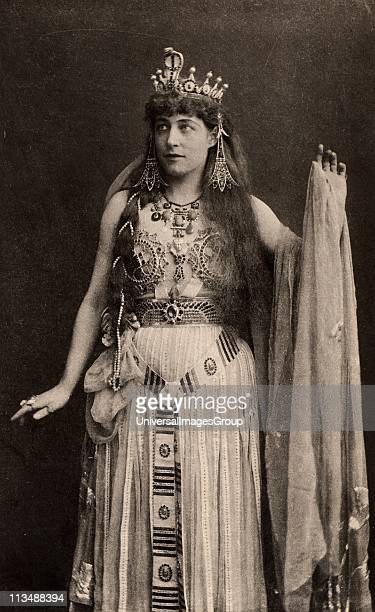 Lillie Langtry English society beauty and actress who first appeared on the stage in 1881 Here as Cleopatra in Antony and Cleopatra by William...