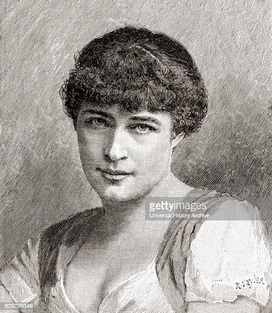 Lillie Langtry or Lily Langtry born Emilie Charlotte Le Breton 1853 – 1929 English actress From The Strand Magazine Vol I January to June 1891
