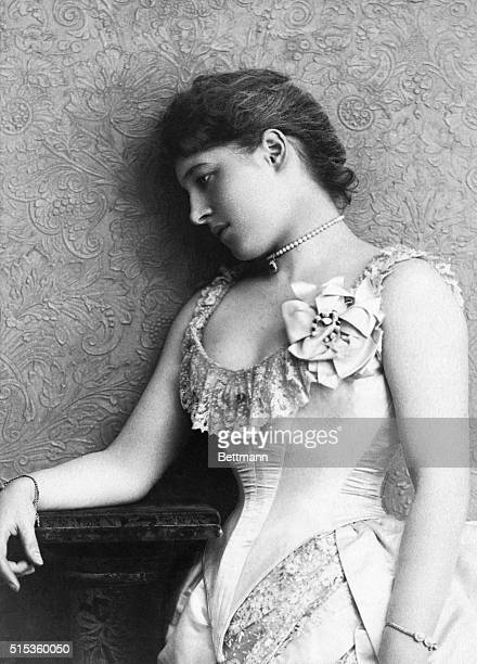 Lillie Langtry was a famous British theatre actress who carried on an affair with Edward VII Prince of Wales