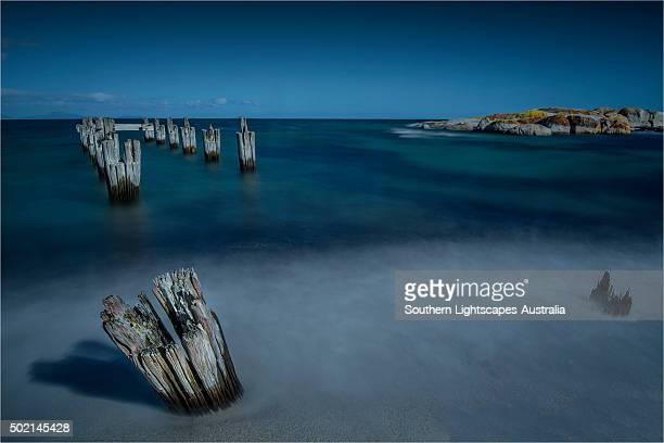 Lillies beach, Wybalena, Flinders Island, Tasmania.