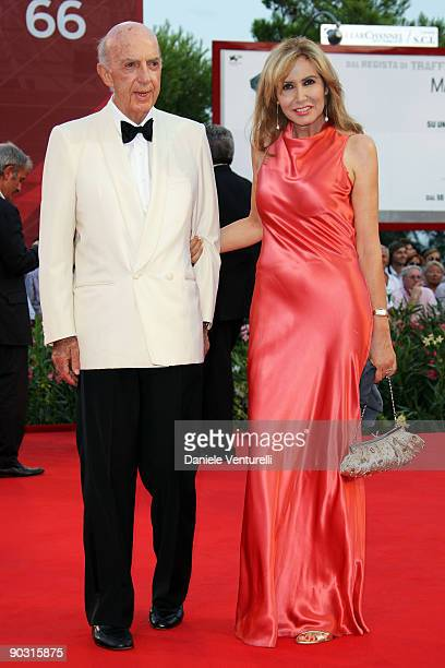 Lillo Sforza Ruspoli and Maria Pia attend the Opening Ceremony and Baaria Premiere at the Sala Grande during the 66th Venice International Film...