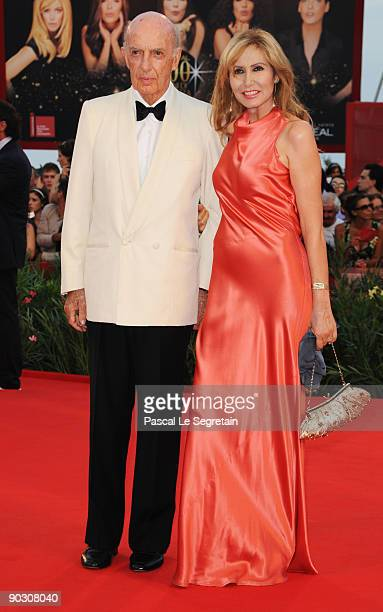 Lillo Sforza Ruspoli and Maria Pia attends the Opening Ceremony and Baaria Red Carpet at the Sala Grande during the 66th Venice Film Festival on...