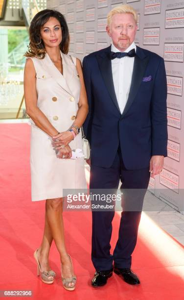 Lilly Becker and Boris Becker are seen during the German Media Award 2016 at Kongresshaus on May 25 2017 in BadenBaden Germany The German Media Award...