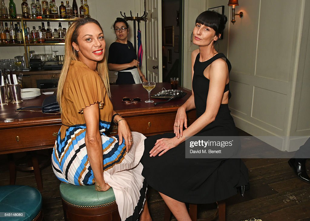 Dylan Jones & Jean-David Malat Host A Private Dinner To Celebrate Artist Mike Dargas At Soho House : ニュース写真