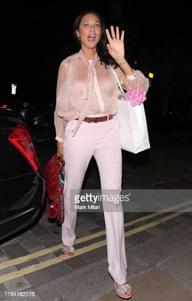 Lilly Becker at the Metropolitan Hotel on June 06 2019 in London England
