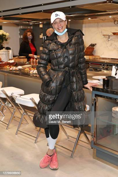 """Lilly Becker attends """"A Christmas Fayre"""" hosted by The Lady Garden Foundation and Alison Henry at Officine Gullo London Showroom on December 3, 2020..."""