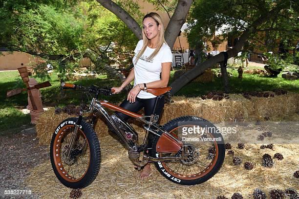 Lilly Becker attends Matchless E Bike Presentation on June 5 2016 at Casone Ugolino in Castagneto Carducci near Livorno Italy