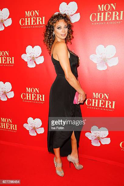 Lilly Becker attends sthe Mon Cheri Barbara Tag at Postpalast on December 2 2016 in Munich Germany