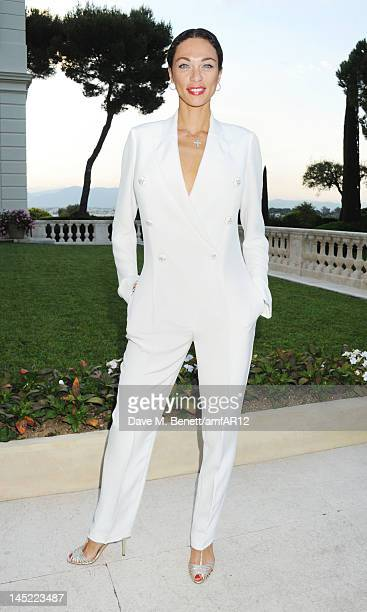 Lilly Becker attends the 2012 amfAR's Cinema Against AIDS during the 65th Annual Cannes Film Festival at Hotel Du Cap on May 24, 2012 in Cap...