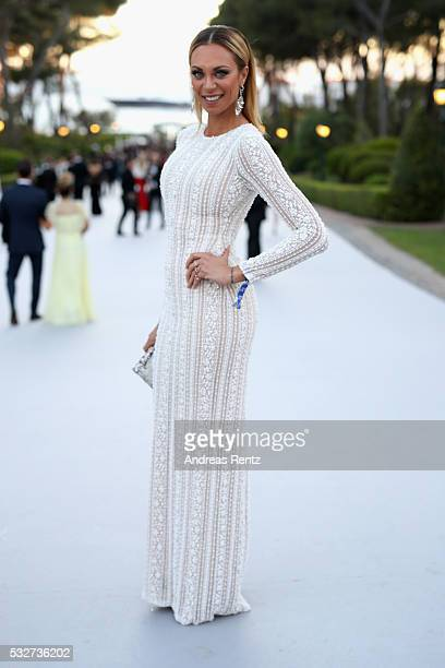 Lilly Becker attends the amfAR's 23rd Cinema Against AIDS Gala at Hotel du Cap-Eden-Roc on May 19, 2016 in Cap d'Antibes, France.
