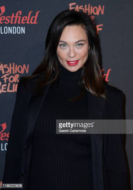 Lilly Becker attends the Fashion for Relief pop-up store at Westfield London on November 26, 2019 in London, England.