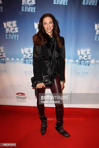 Lilly Becker attends the Ice Age Live gala premiere at ISS Dome on November 12 2012 in Duesseldorf Germany