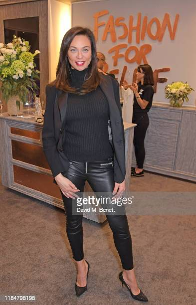 Lilly Becker attends the launch of Naomi Campbell's Fashion For Relief charity popup store at Westfield London on November 26 2019 in London England