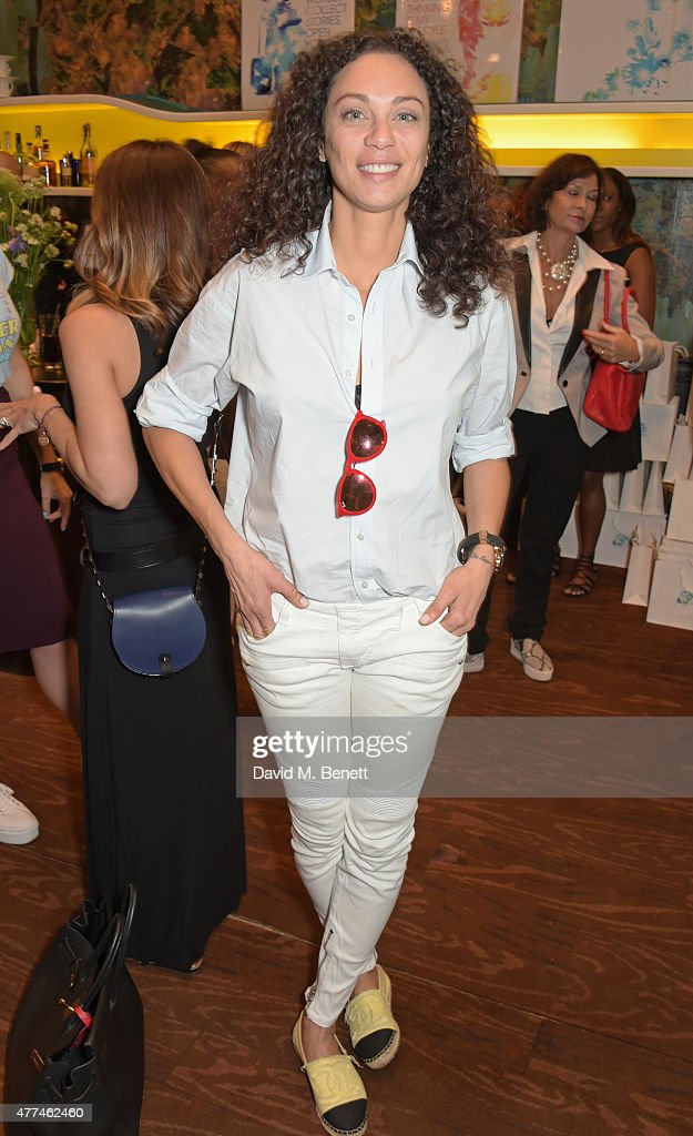 Lilly Becker attends the launch of natural health, beauty and wellbeing website Grace Guru, hosted by Anna Grace-Davidson with the support of Jo Wood Organics, at Sketch on June 17, 2015 in London, England.