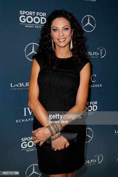 Lilly Becker attends the Laureus Sport for Good Night 2014 at Bayerischer Hof on September 19 2014 in Munich Germany