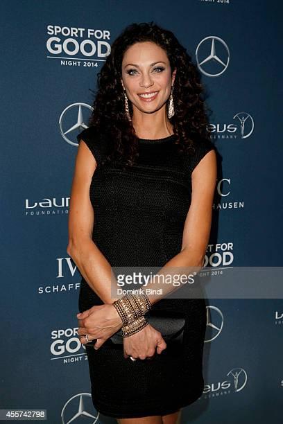 Lilly Becker attends the Laureus Sport for Good Night 2014 at Bayerischer Hof on September 19, 2014 in Munich, Germany.