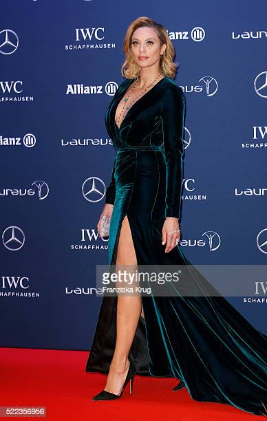 Lilly Becker attends the Laureus World Sports Awards 2016 at the Messe Berlin on April 18 2016 in Berlin Germany