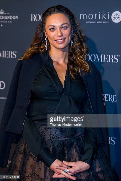 Lilly Becker attends the red carpet during the grand opening of Roomers hotel on November 10 2016 in BadenBaden Germany