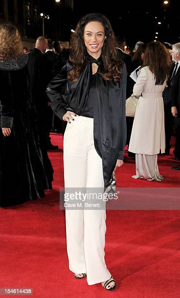Lilly Becker attends the Royal World Premiere of 'Skyfall' at the Royal Albert Hall on October 23, 2012 in London, England.