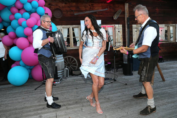 """DEU: """"Wiesn Wiesn Charity Night"""" Hosted By Cathy Hummels And Willem Tell At """"Käfer Alm"""" In Munich"""