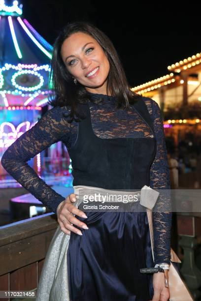 Lilly Becker during the Almauftrieb as part of the Oktoberfest 2019 at Kaefer Tent at Theresienwiese on September 22 2019 in Munich Germany