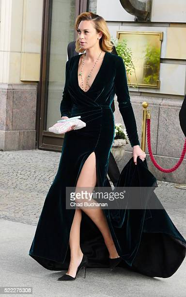 Lilly Becker sighted at the Adlon Hotel on April 18 2016 in Berlin Germany