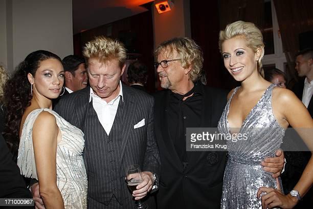 """Lilly Becker Und Ehemann Boris Becker Mit Martin Krug Und Verena Kerth Bei Der """"United Charity Night"""" Zugunsten Von Powerchild E. V. Im Gop..."""