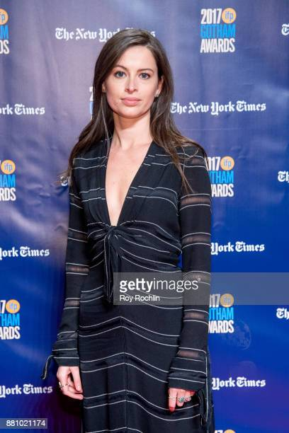 Lilly Burns attends the 2017 IFP Gotham Awards at Cipriani Wall Street on November 27 2017 in New York City