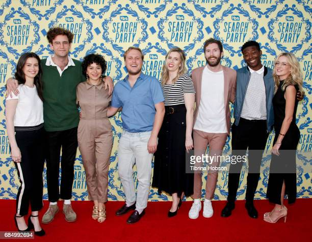 Lilly Burns John Reynolds Alia Shawkat John Early SarahViolet Bliss Charles Rogers Brandon Micheal Hall and Meredith Hagner attend TBS's 'Search...
