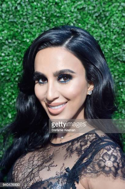 Lilly Ghalichi attends KKWxMario Dinner at JeanGeorges Beverly Hills on March 31 2018 in Beverly Hills California