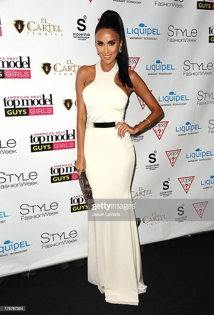 Lilly Ghalichi attends the 'America's Next Top Model' 20th cycle gala celebration at SupperClub Los Angeles on August 7, 2013 in Los Angeles, California.