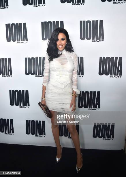 Lilly Ghalichi attends UOMA Beauty Launch Event at NeueHouse Hollywood on April 25 2019 in Los Angeles California