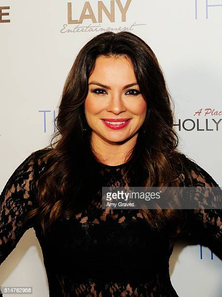 Lilly Melgar attends the 5th Annual LANY Entertainment Mixer at St Felix on March 10 2016 in Hollywood California