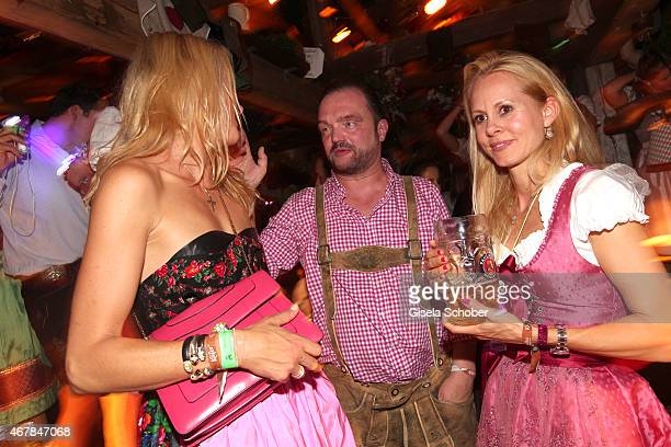 Lilly SaynWittgenstein exwife of Prince Alexander zu SchaumburgLippe and his wife princess Nadja zu Schaumburg Lippe during Oktoberfest at...