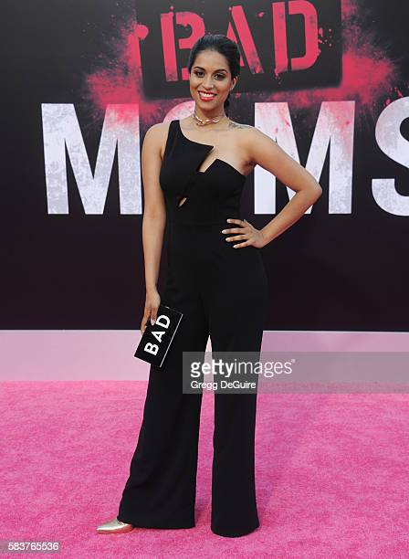 Lilly Singh arrives at the premiere of STX Entertainment's 'Bad Moms' at Mann Village Theatre on July 26 2016 in Westwood California