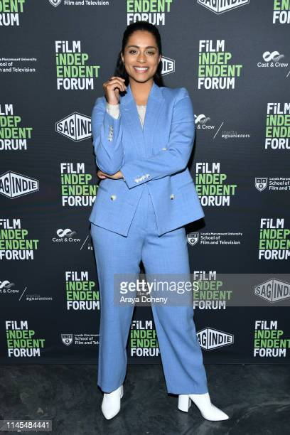 Lilly Singh attends day 2 of the Film Independent Forum at LMU Playa Vista Campus on April 27 2019 in Playa Vista California