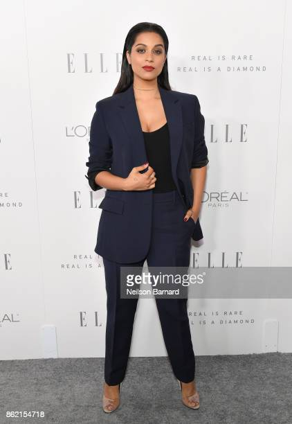 Lilly Singh attends ELLE's 24th Annual Women in Hollywood Celebration presented by L'Oreal Paris Real Is Rare Real Is A Diamond and CALVIN KLEIN at...