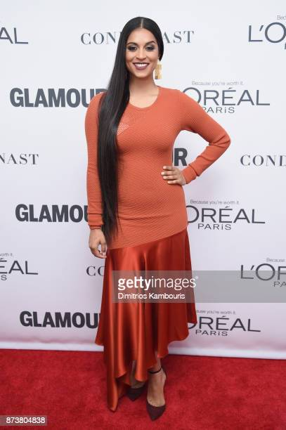 Lilly Singh attends Glamour's 2017 Women of The Year Awards at Kings Theatre on November 13 2017 in Brooklyn New York