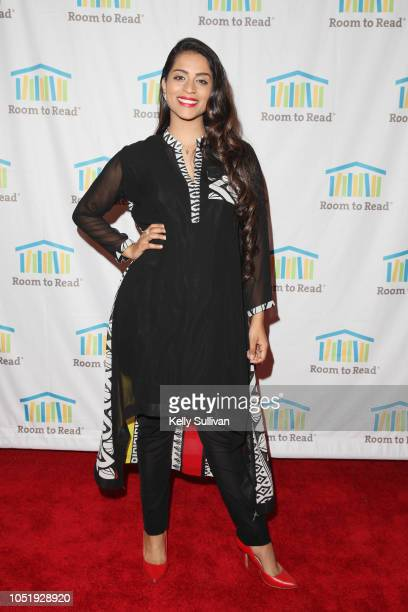 Lilly Singh attends Room To Read 2018 International Day Of The Girl Benefit at One Kearny Club on October 11 2018 in San Francisco California