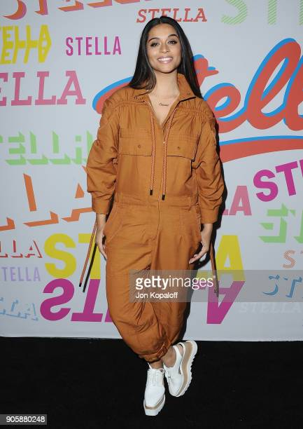 Lilly Singh attends Stella McCartney's Autumn 2018 Collection Launch on January 16 2018 in Los Angeles California
