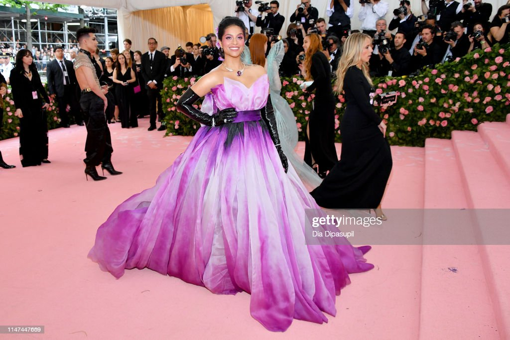 Lilly Singh Attends The 2019 Met Gala Celebrating Camp Notes On