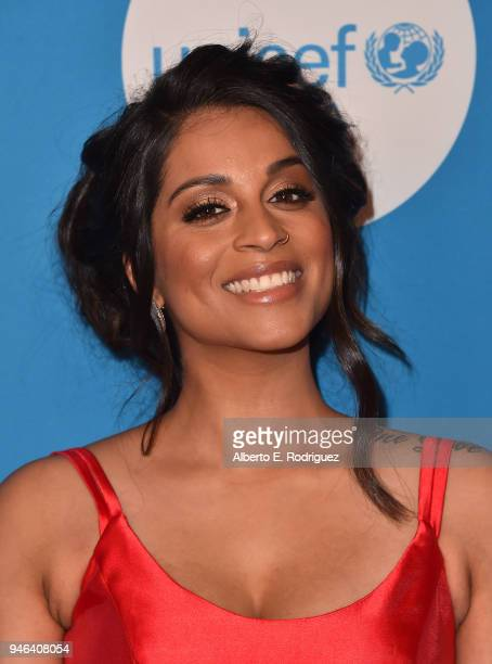 Lilly Singh attends the 7th Biennial UNICEF Ball at the Beverly Wilshire Four Seasons Hotel on April 14 2018 in Beverly Hills California
