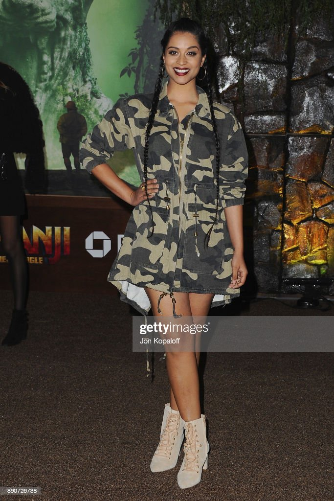 Lilly Singh attends the Los Angeles Premiere 'Jumanji: Welcome To The Jungle' at the TCL Chinese Theatre on December 11, 2017 in Hollywood, California.