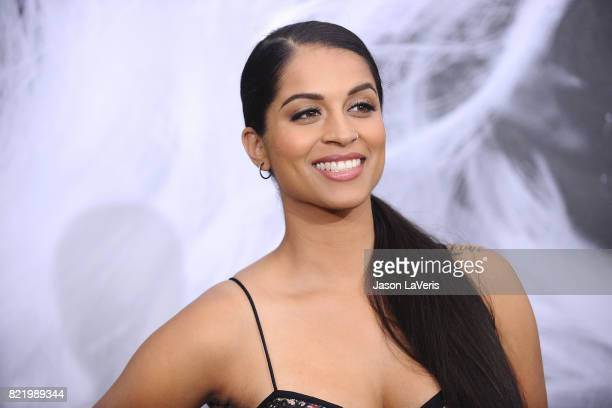 Lilly Singh attends the premiere of Atomic Blonde at The Theatre at Ace Hotel on July 24 2017 in Los Angeles California