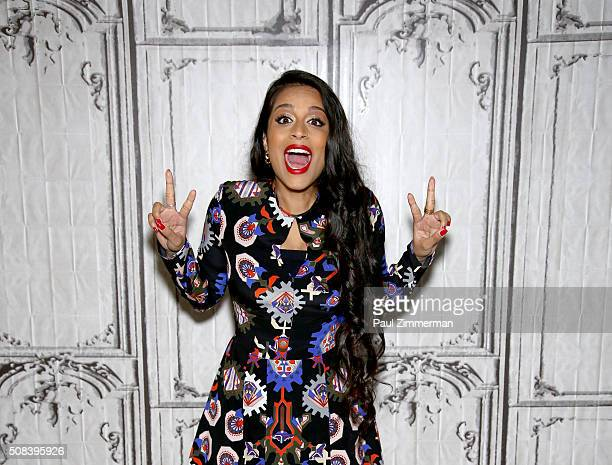Lilly Singh better known by her YouTube username Superwoman attends AOL Build Speaker Series Lilly Singh 'Superwoman' And 'A Trip to Unicorn Island'...