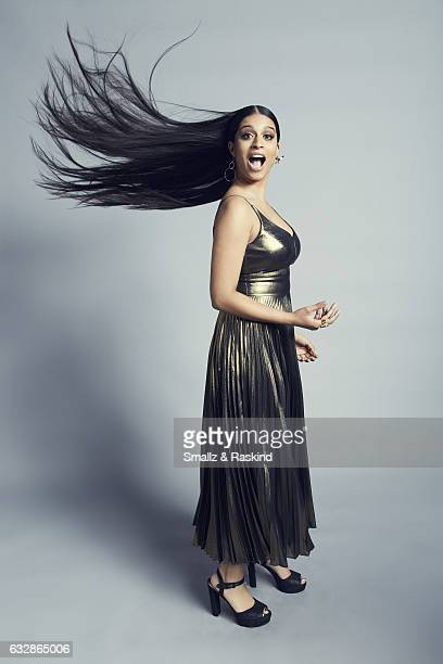 Lilly Singh poses for a portrait at the 2017 People's Choice Awards at the Microsoft Theater on January 18 2017 in Los Angeles California